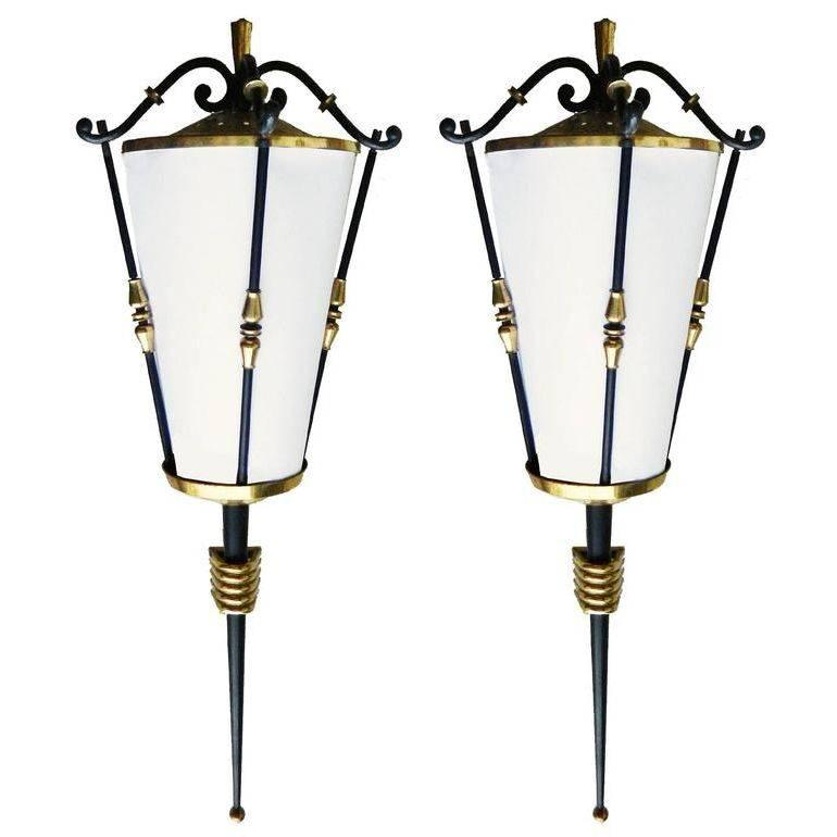 Pair of Maison Arlus Sconces, 3 pairs available