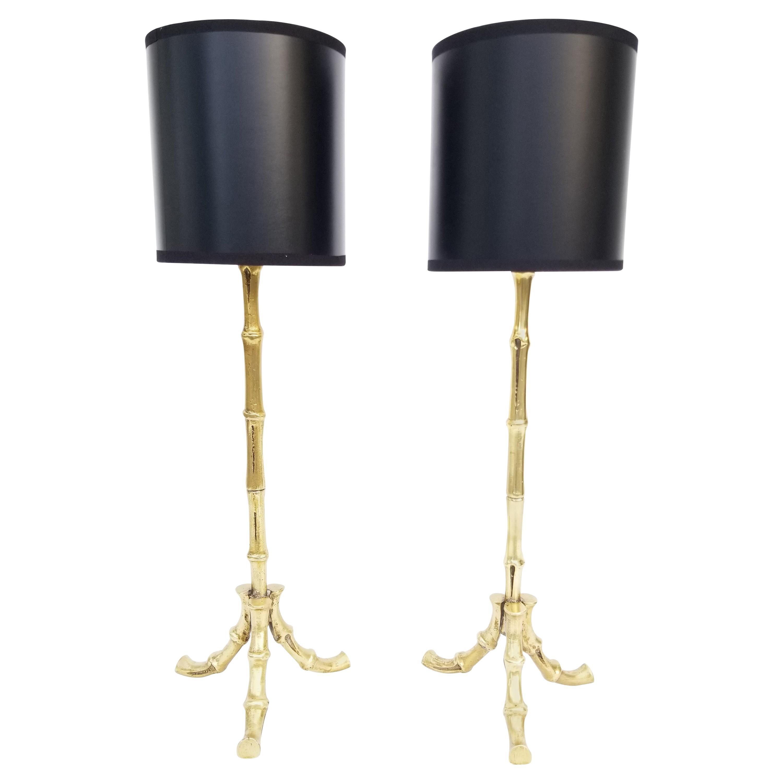 Pair of Maison Baguès Table Lamp