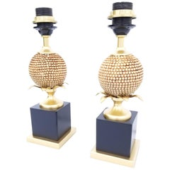 Pair of Maison Charles Style Table Lamp