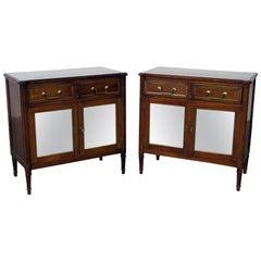 Pair of Maison Jansen Directoire Style Cabinets