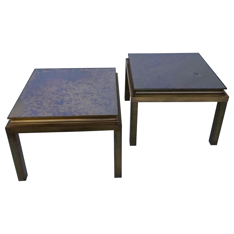 Pair of Maison Jansen Side Table
