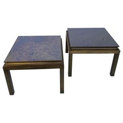Pair of Maison Jansen Side Table