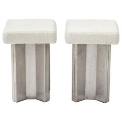 Pair of Maison Jansen Stools