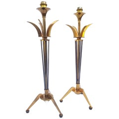 Pair of Maison Lunel Table Lamp