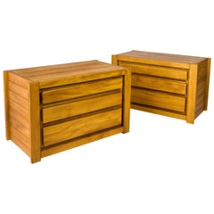 Pair of Maison Regain Chest of Drawers, circa 1960, France