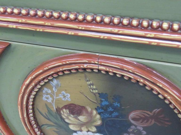 Pair of Maitland Smith Louis XVI Style Commodes 4