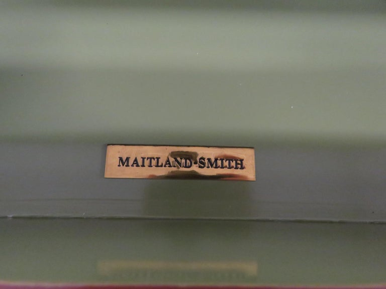 Pair of Maitland Smith Louis XVI Style Commodes 1