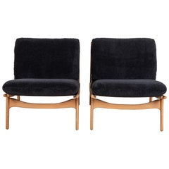 Pair of Maker's Lounge Chairs by Lawson-Fenning