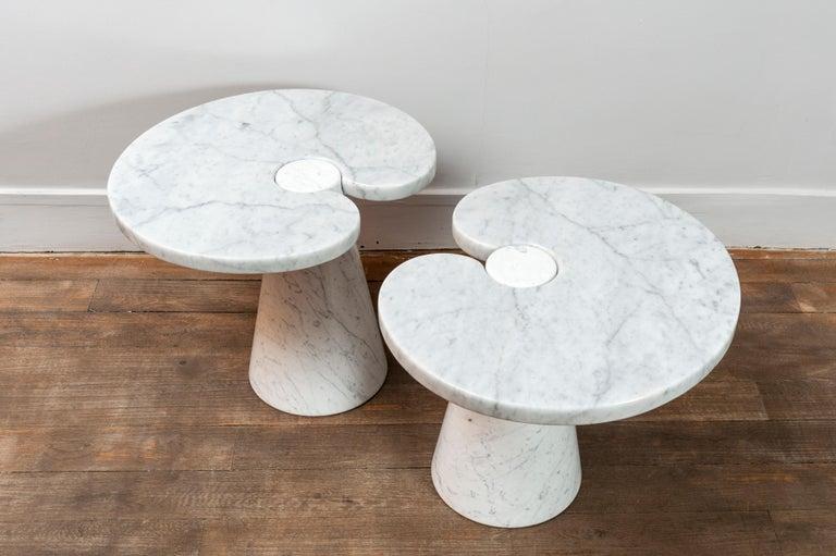 Mid-Century Modern  Pair of Marble