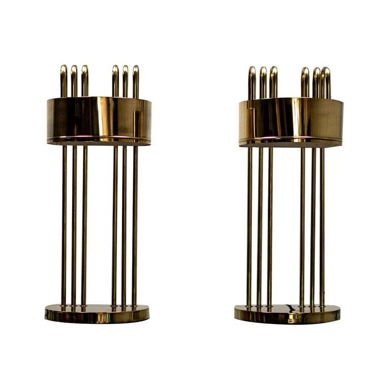 Pair of Marcel Breuer Art Deco Desk Lamps, 1925, Paris For Sale