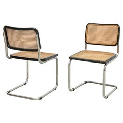 Pair of Marcel Breuer Cesca Chairs, circa 1960