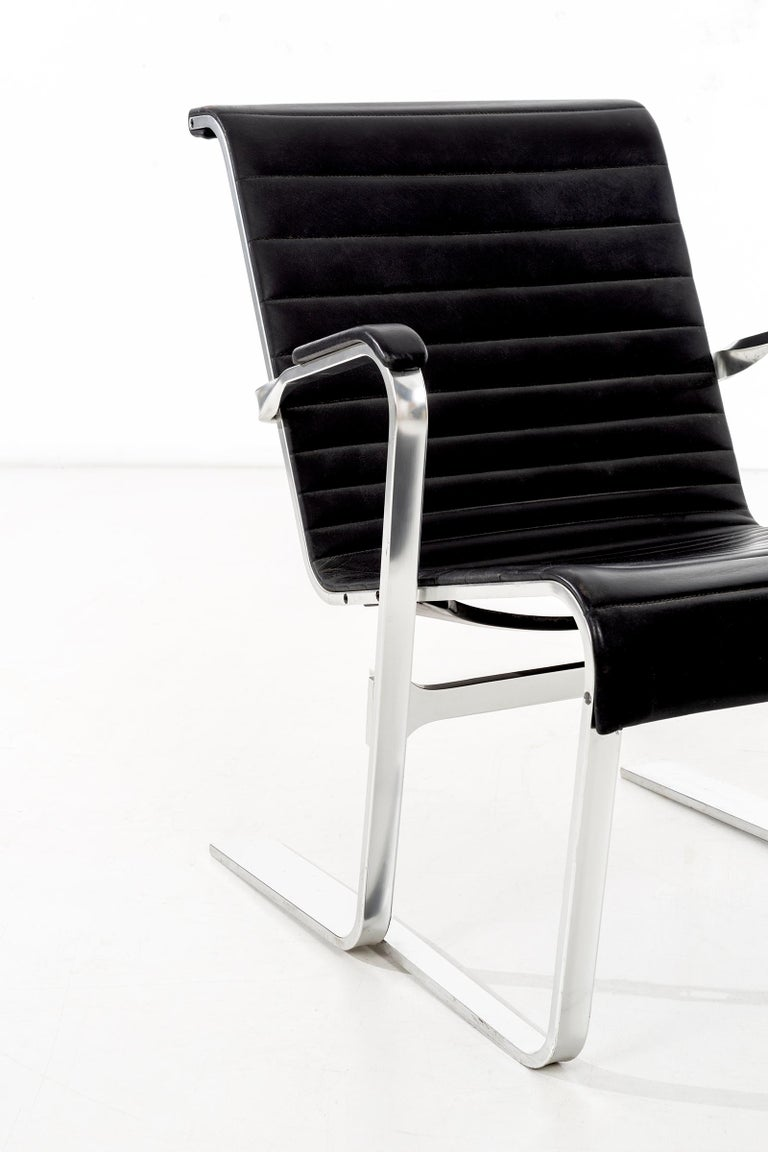 German Pair of Marcel Breuer Lounge Chairs For Sale