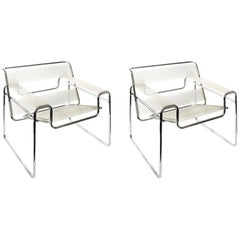 Pair of Marcel Breuer Wassily Style Chairs