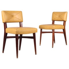 Pair of Marcel Gascoin Style Chairs