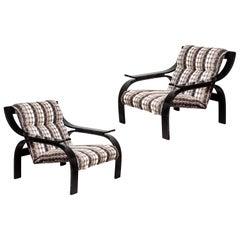 Pair of Marco Zanuso Chairs by Arflex, 1964