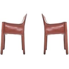 Pair of Mario Bellini Cab Chairs