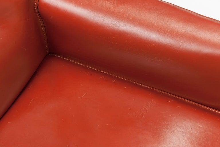 Pair of Mario Bellini CAB Lounge Chairs by Cassina, 1980s For Sale 8