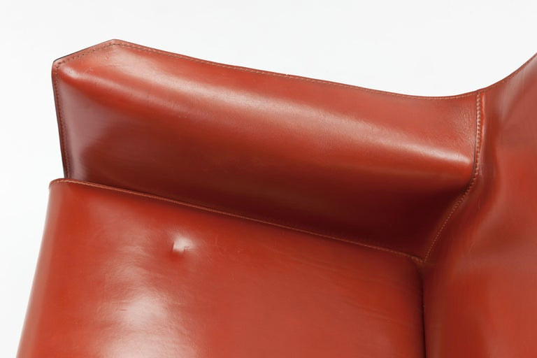 Pair of Mario Bellini CAB Lounge Chairs by Cassina, 1980s For Sale 9