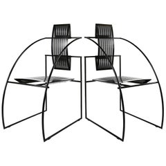 Pair of Mario Botta Quinta Chair Alias, Italy, 1985