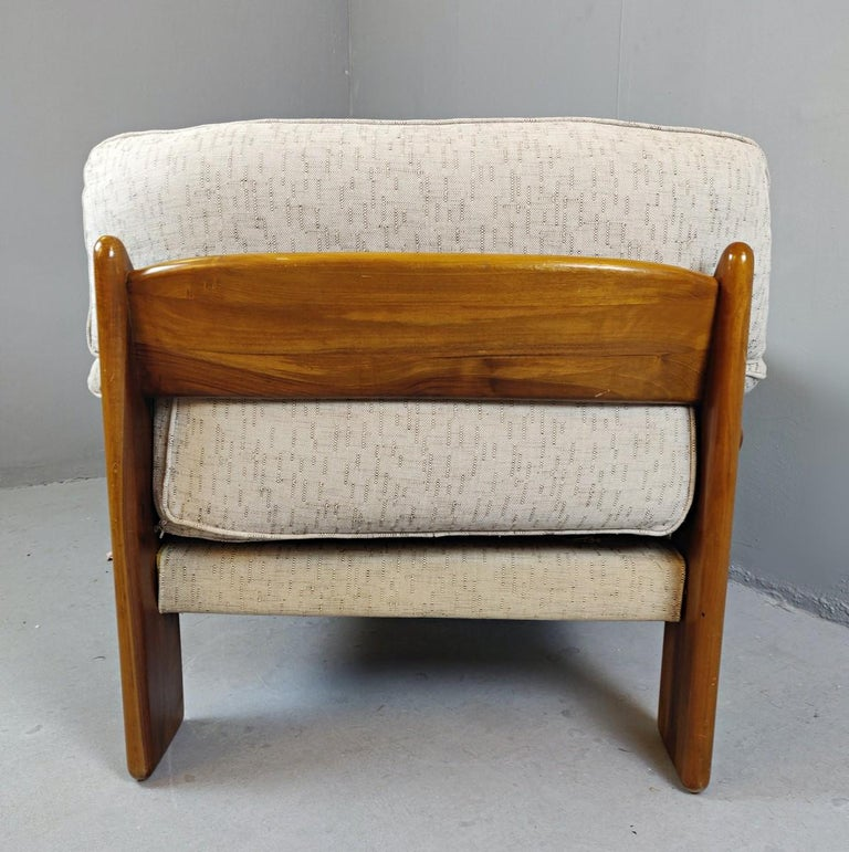 Late 20th Century Pair of Mario Marenco Armchairs, Italy, 1980s For Sale