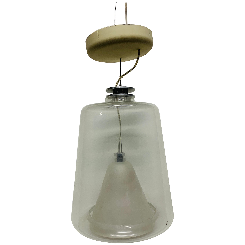 Pair of Marta Laudani & Marco Romanelli, Oluce, Hanging Lamps