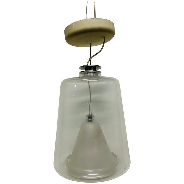 Pair of Marta Laudani & Marco Romanelli, Oluce, Hanging Lamps For Sale