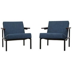 Pair of Martin Visser SZ 64 Lounge Chairs For 'T Spectrum