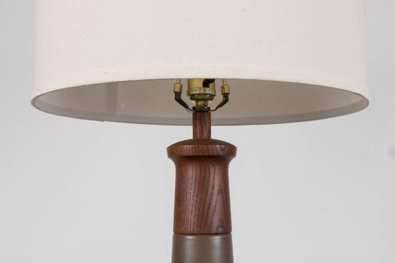 American Pair of Martz Lamps For Sale