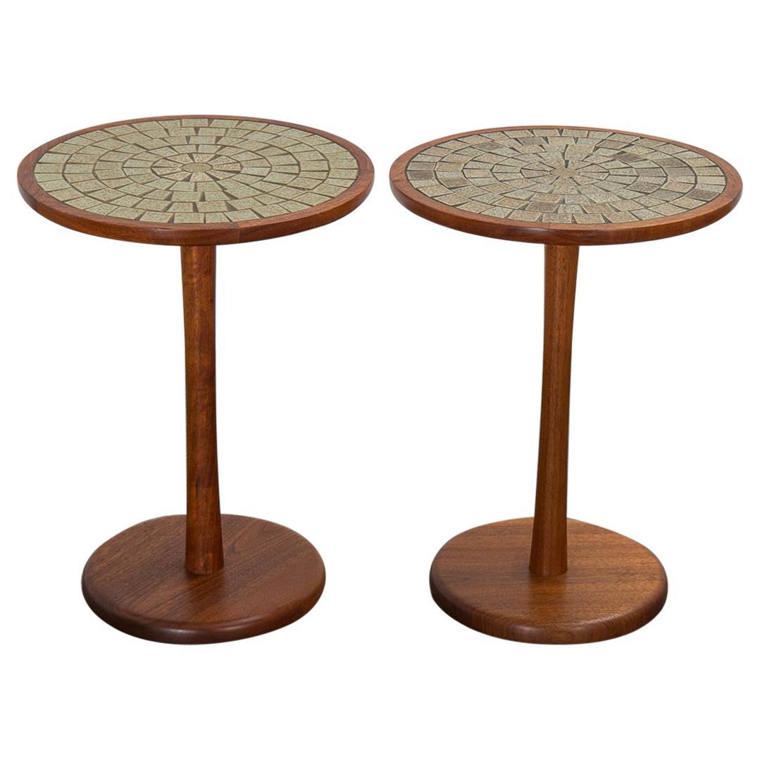 Pair of Martz Tile Tables