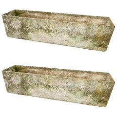 Pair of Massive Willy Guhl Rectangular Planters