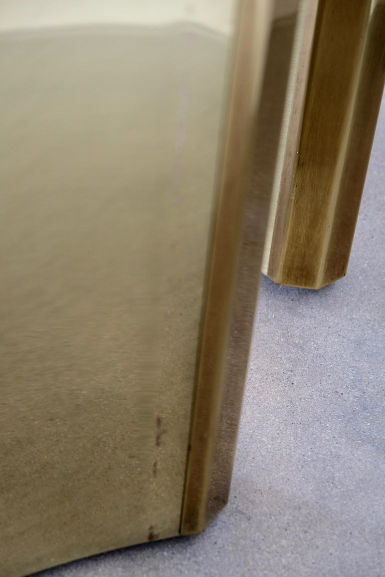 Pair of Mastercraft Brass 'Trilobi' Dining Table Bases For Sale 12