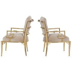 Pair of Mastercraft Lounge Chairs