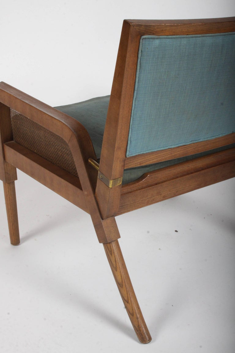 Pair of Mastercraft Mid-Century Modern Lounge Chairs For Sale 12