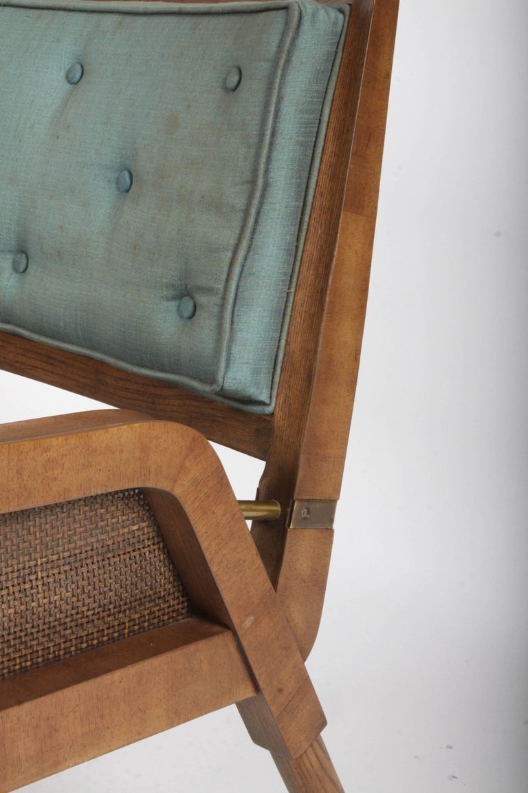 American Pair of Mastercraft Mid-Century Modern Lounge Chairs For Sale
