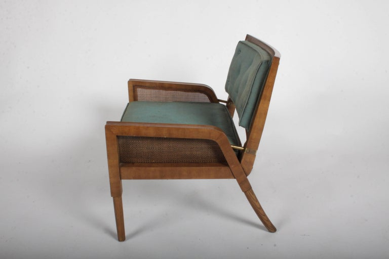 Pair of Mastercraft Mid-Century Modern Lounge Chairs For Sale 1