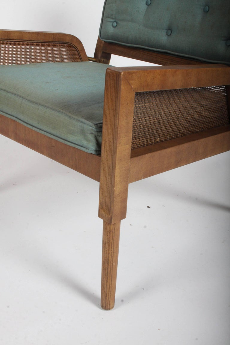 Pair of Mastercraft Mid-Century Modern Lounge Chairs For Sale 4