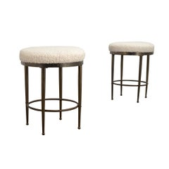 Pair of Mastercraft Style Stool