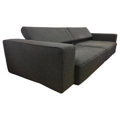 Pair of Matching B&B Italia Sofas Made in Italy Paolo Piva Design Two-Piece