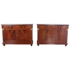 Pair of Matching Empire Buffets Period 1830, from France
