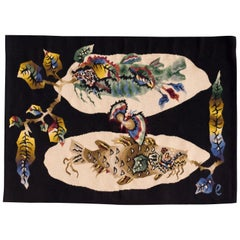 Pair of Matching Jean Lurcat Aubusson Tapestries
