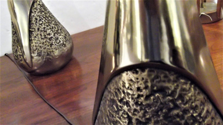 20th Century Pair Lamps by Laurel Lamps Co For Sale