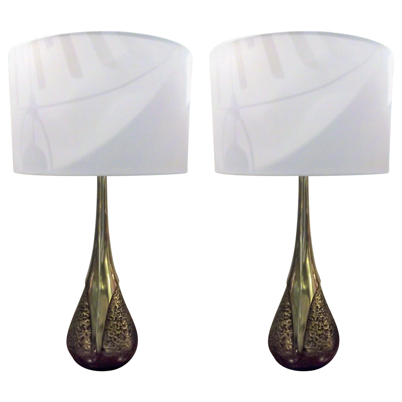 Pair Lamps by Laurel Lamps Co