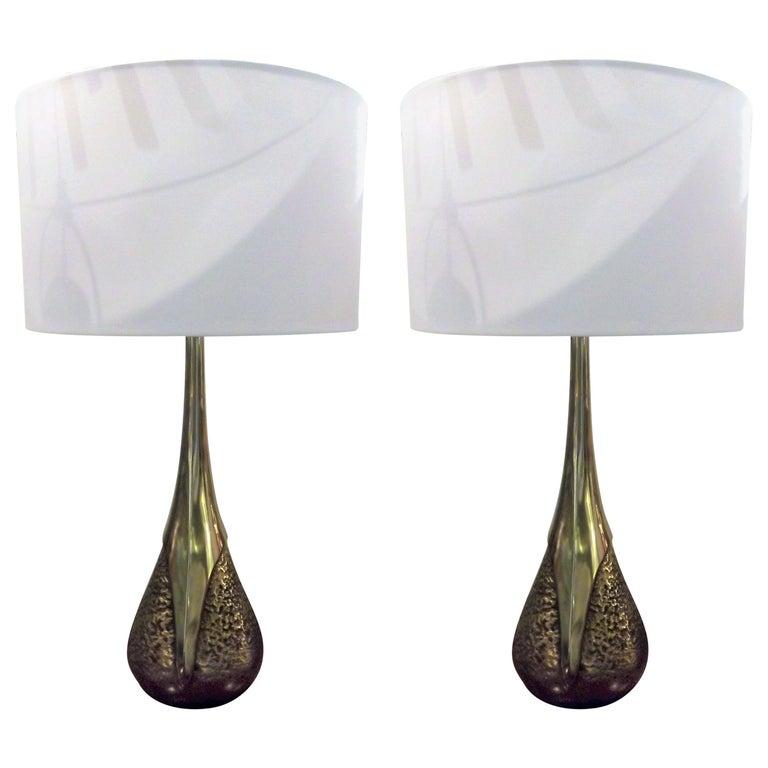 Pair Lamps by Laurel Lamps Co For Sale