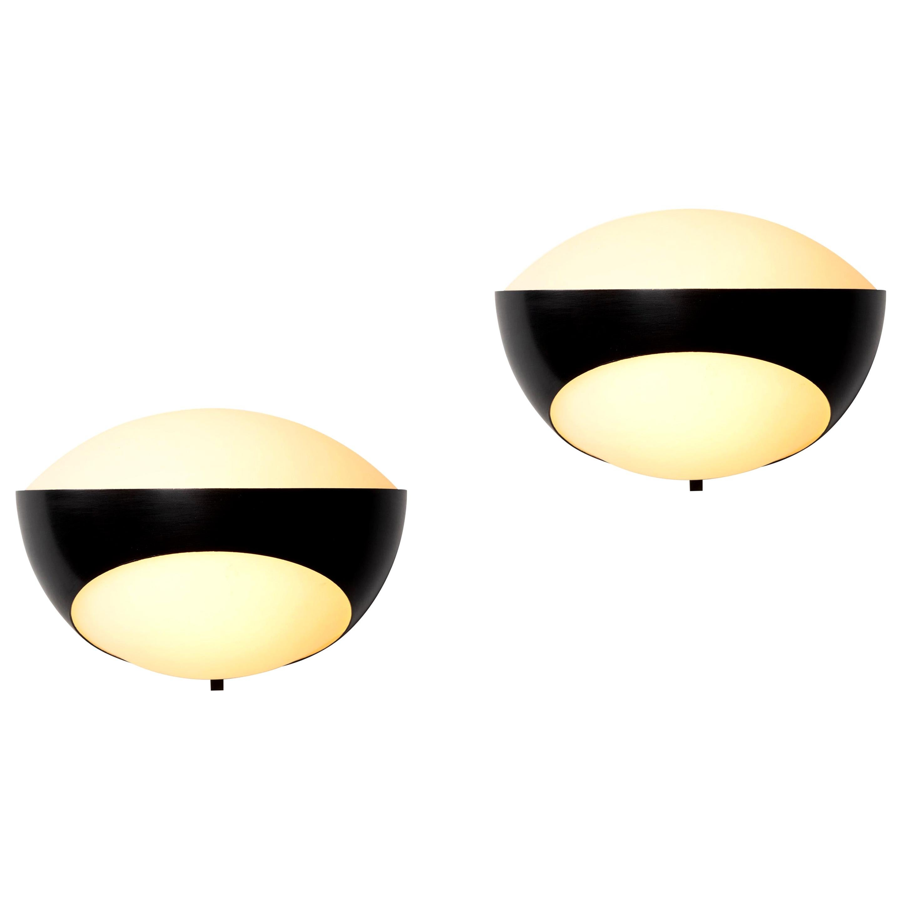 Pair of Max Ingrand '1963' Sconces for Fontana Arte