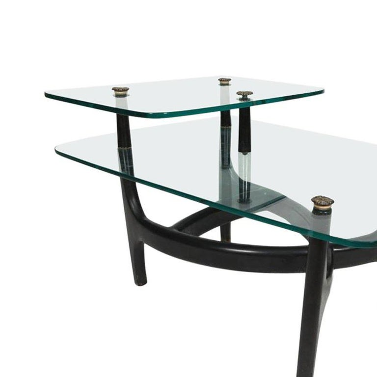 American Pair of MCM Side Tables  For Sale