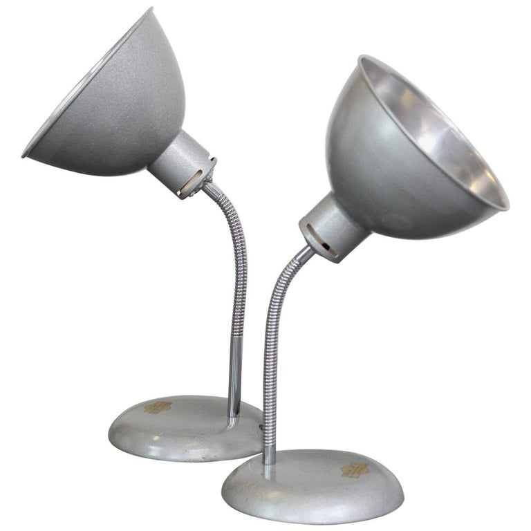 Pair of Medical Lamps by Stephen Glover, circa 1940s For Sale