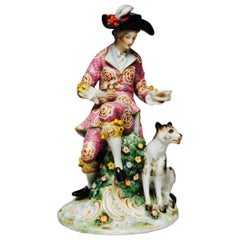 Pair of Meissen Figures of a Shepard and Shepherdess