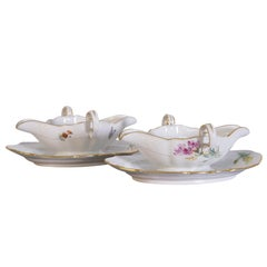 Pair of Meissen Legume Dishes from the Marcolini Period, 18th Century