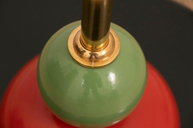 Art Deco Pair of Memphis Style Dutch Floor Lamps For Sale