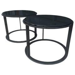 "Pair of ""Mera"" Side Tables by Antonio Citterio for B&B Italia"